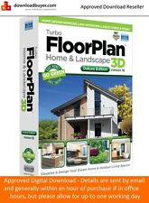 IMSI TurboFloorPlan Home & Landscape Deluxe V16 - PC (Approved Digital Download)