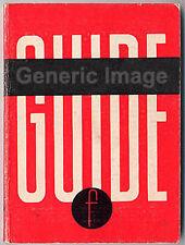 1957 Zeiss Contaflex Camera Range Guide inc I - IV More Instruction Books Listed