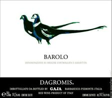 6 bt. BAROLO  DOCG  DAGROMIS 2011 GAJA