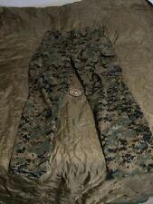 USMC Marine Issued FR FROG Woodland Marpat Combat Trouser Size Large-R New