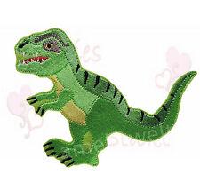 XL T Rex Dinosaurier Aufbügler Aufnäher Bügelbild T-Rex Schultüte schulranzen
