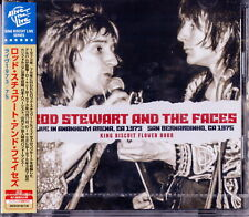 ROD STEWART & THE FACES-LIVE 1973 / 1975 KING BISCUIT FLOWER...-IMPORT 2 CD G27