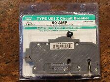 Connecticut Electric Zinsco Ubiz-0250 50 Amp Double Pole Thin Circuit Breaker