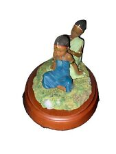 New Thomas Blackshear's Ebony Visions Sisters Forever In Childhood Figurine