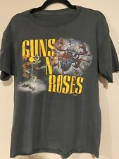 Vintage Guns N Roses Was Here T-shirt 1987