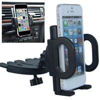 Universal-Car CD Slot Holder Stand Cradle Mount For Mobiles Phone GPS