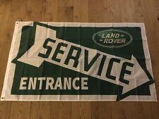 Land Rover service entrance Defender Series 1 2 3 Discovery workshop flag banner