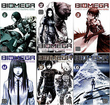 Biomega Series Complete Collection Set 1-6 English ADULT Manga by Tsutomu Nihei