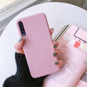 For Samsung Galaxy A72 A52s A42 A32 A12 A51 A22 5G Silicone TPU Matte Case Cover