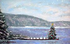 Smith Mountain Lake Christmas (5.3 x 8.3) --Giclee Print by Shelley Koopmann