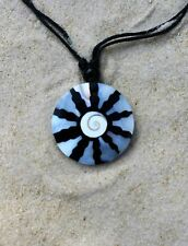 PACK OF 5 BRAND NEW SHELL PENDANT NECKLACES SURFER BEACH WHOLESALE PRICE / n463