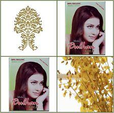 2 Cajas. puro de hierbas Henna. Golden Color de pelo. 100g EA.