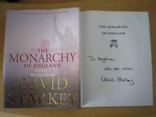 DAVID STARKEY - THE MONARCHY OF ENGLAND VOLUME 1  1st ED.  HB/DJ  2004  SIGNED