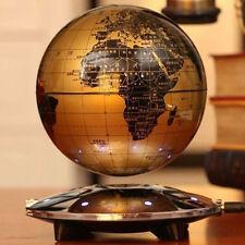 """6"""" World Map Nightlight 8 LED  Magnetic Levitation Floating Globe Decoration New"""