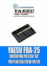 FBA-25 YAESU ORIG. PORTAP. AA stilo PER FT-60/250/270, VX-110/170  REF.100028