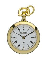 "Jean Pierre Quartz Pendant Watch, Gold Plated Case, 26"" Chain, L600PQ/RN"