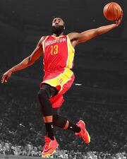 Houston Rockets JAMES HARDEN Glossy 8x10 Photo Spotlight Basketball Print Poster