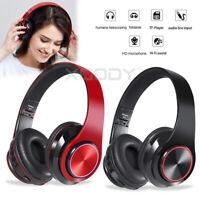 Bluetooth5.0 Wireless Kopfhörer Noise Cancelling HiFi Stereo Drahtlose Headphone