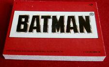 BATMAN - COMPLETE STICKER SET (22 STICKERS) - Topps (UK) 1989