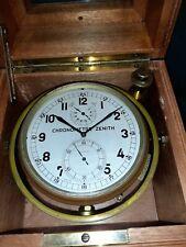 Chronometre de marine, Marine Chronometer Zenith