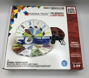Magna-Tiles World of Eric Carle The Grouchy Ladybug Connects With Magnets New