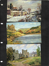 Posted Collectable Royal Mail Postcard Sets