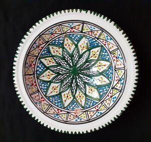 Lot de 6 TEBSI Vert aux multiples motifs et rosace