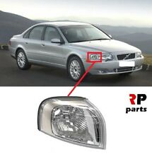 FOR VOLVO S80 98-06 FRONT BUMPER SIDE INDICATOR REPEATER SILVER TRIM RIGHT O/S