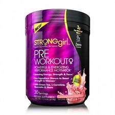 Strong Girl Womens Pre-Workout Cosmopolitan Fruit Punch 219g FREE TRACKED POST