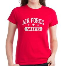 Air Force Wife T Shirt Tee US Military Soldier Army  USMC Airforce USA