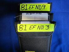 TIFFFEN  4 X 5.650  (PANA)    81EFN3, 81EFN6, 81EFN9  (USED)  (LOT OF 3)
