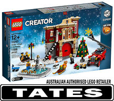 LEGO? 10263 Winter Village Fire Station CREATOR from Tates Toyworld