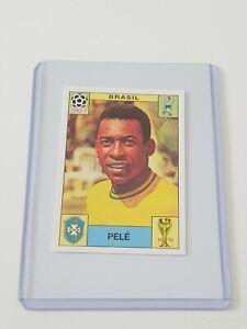 Panini World Cup Story Mexico 70 1970 Pele Unused Album Sticker Not Sonrics 38