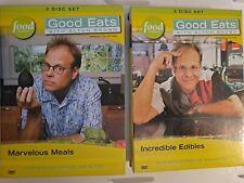 Good Eats with Alton Brown Volume 5 & 6 Incredible Edibles & Marvelouz Meals DVD