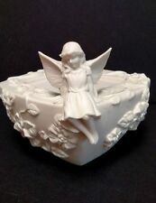 PartyLite Enchantment  Fairy Girl Pillar Candle Holder P7135  Retired