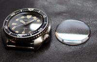 Sapphire Clear AR 320w34ga Seiko diver 6309-7040 6309-7049 6306-7000 6306-7001