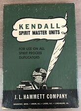 "J.L. Hammett Kendall Spirit Master Units 8.5"" x 11"" Purple (100 Sheets) VTG"
