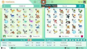 ✨Pokémon Sword & Shield | Pokémon GO Low-level Legendaries | 6IV | Square Shiny✨