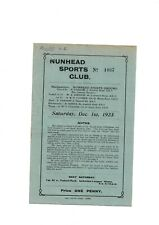 More details for nunhead sports v gillingham (f.a cup qualifying round) 1923/24