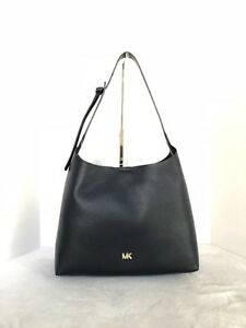 Michael Kors Junie Hobo Shoulder Bag Color-Admiral