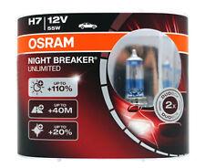 Osram H7 Night Breaker Unlimited Halogen Headlamp Bulb