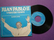 JUAN PABLO II El Papa Canta SPAIN EP 1980 EX