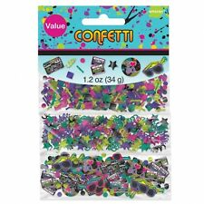 TOTALLY 80s PARTY CASSETTE TABLE CONFETTI LARGE 34G BAG!