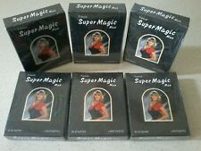 6 Box (36 sachet)Super Magic Man Tissue Prevent Premature Ejaculation longer Sex