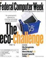 Federal Computer Week Magazine May 16 2005 The Eco-Challenge EX FAA 031416jhe