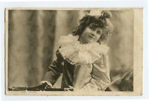 c 1906 Child Children Kid Pierrot BRITISH CLOWN photogravure photo postcard
