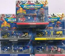 Micro Machines Power Rangers COMPLETE Collection - MINT IN SEALED PACKS