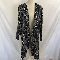 NEW CHICO'S Travelers Crinkle Trench Jacket Duster 4 - 20W Plus $149