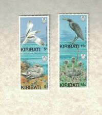 4 1989 KIRIBATI BIRDS STAMP MNH