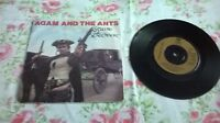 """Stand And Deliver by Adam And The Ants  on 7"""" Vinyl Single in a Picture Sleeve"""